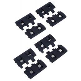 Element Replacement XTM Rail Panel 8 Piece Set - BLACK