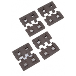Element Replacement XTM Rail Panel 8 Piece Set - DARK EARTH