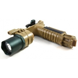 J-Rich Xenon G900 220 Lumen Foregrip Flashlight w/ Nav Lights