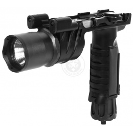 J-Rich 160 Lumen G900 Foregrip LED Flashlight w/ 2 Nav Lights
