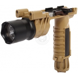 J-Rich LED G900 160 Lumen Tactical Foregrip Flashlight w/ Nav Lights