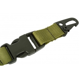G-Force OpSpec Hyper QD Tactical 1-Point Bungee Sling OD GREEN