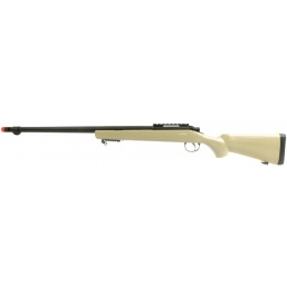 WellFire VSR-10 Bolt Action Airsoft Spring Sniper Rifle - TAN