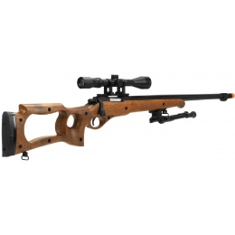 Well MB10D Sniper Rifle w/ Scope and Bipod - FAUX WOOD