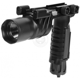 J-Rich LED G910 200 Lumen Tactical Foregrip Flashlight w/ Nav Lights