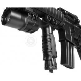 J-Rich LED G910 200 Lumen Tactical Foregrip Flashlight w/ Nav Lights
