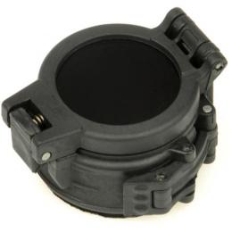 Night Evolution M300+M600 Ir Compact Filter Flashlight - BLACK