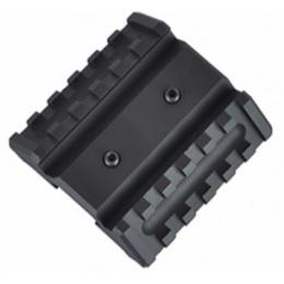 Element Dual Offset Rail Interface Mount Base - BLACK