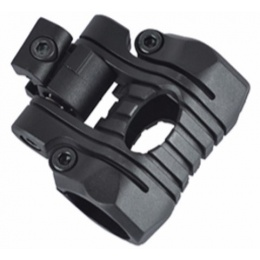 Element Tactical 5-Position Flashlight Rail Mount - BLACK
