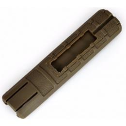 Element TD Battle Grip Rail Cover w/ Pocket - DARK EARTH