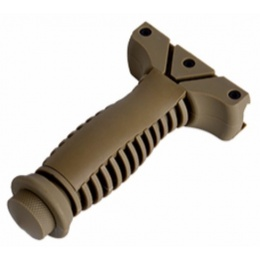 Element CQB Tactical Airsoft 20mm Foregrip - DARK EARTH