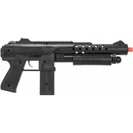 UK Arms Spring Airsoft Shotgun w/ Sight & Laser - BLACK
