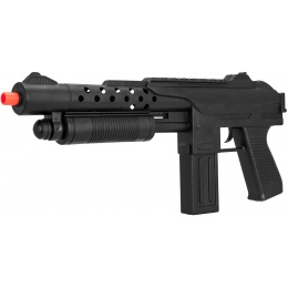 UK Arms Spring Airsoft Shotgun w/ Sight & Laser - BLACK