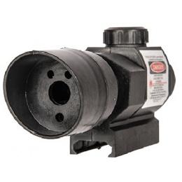 UK Arms Tactical Airsoft Spring Shotgun w/ Laser - BLACK