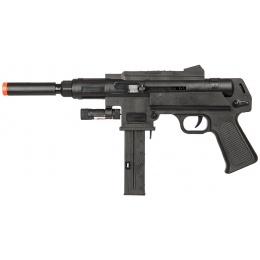 UK Arms Spring Airsoft Rifle W/ Laser & Flashlight - BLACK