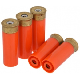 AMA Tactical PPS Shotgun Shells Pack of 5 - ORANGE