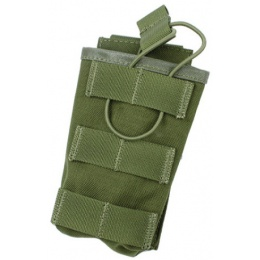 AMA Tactical MOLLE Universal Magazine Cordura Pouch - OLIVE DRAB