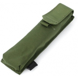 AMA Tactical Airsoft MOLLE P90 Single Magazine Pouch - OD GREEN