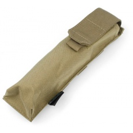 AMA Tactical Airsoft MOLLE P90 Single Magazine Pouch - KHAKI