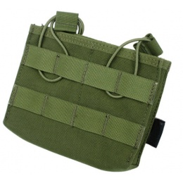 AMA Tactical MOLLE CQB Universal Double Mag Pouch - OLIVE DRAB