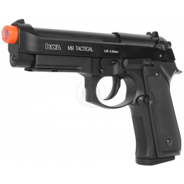 KWA Full Metal M9 PTP Airsoft Gas Blowback Pistol w/ Railed Frame