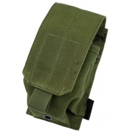 AMA Tactical Airsoft 1000D MOLLE Smoke Grenade Pouch - OLIVE DRAB