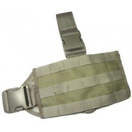 AMA Mini Tactical MOLLE Drop Leg Panel - FOLIAGE GREEN