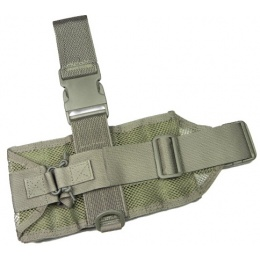 AMA Mini Tactical MOLLE Drop Leg Panel - FOLIAGE GREEN