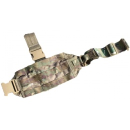 AMA Mini Tactical MOLLE Drop Leg Panel - CAMO