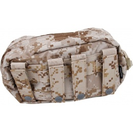 AMA Airsoft Tactical 1000D Large Utility MOLLE Pouch - DESERT DIGITAL