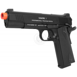 KWA Full Metal M1911 MARK 1 PTP Airsoft Gas Blowback Pistol in - BLACK
