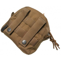AMA Airsoft Tactical MOLLE Small Utility Pouch - KHAKI