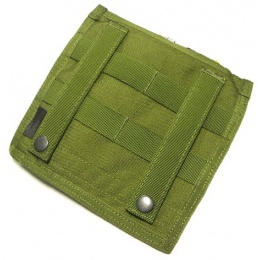 AMA Tactical MOLLE Flat Admin Pouch - OD GREEN