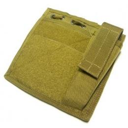 AMA Tactical MOLLE Flat Admin Pouch - KHAKI