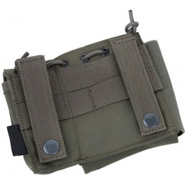 AMA SA Admin MOLLE Pouch w/ Paracord Lacing - RANGER GREEN