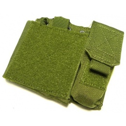 AMA SA Admin MOLLE Pouch w/ Paracord Lacing - OD GREEN