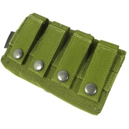 AMA Airsoft Tactical D8 MOLLE Nylon Storage Pouch - OD GREEN