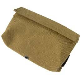 AMA Airsoft Tactical D8 MOLLE Nylon Storage Pouch - KHAKI