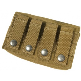 AMA Airsoft Tactical D8 MOLLE Nylon Storage Pouch - KHAKI