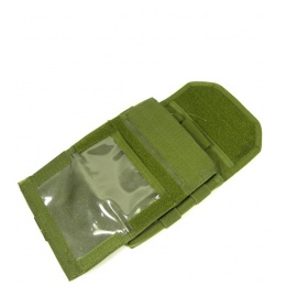 AMA Airsoft KMT Combat Admin Pouch - OD GREEN