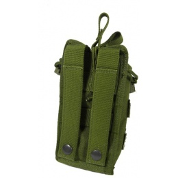 AMA Open Top Single M4 Magazine MOLLE Pouch - OD GREEN