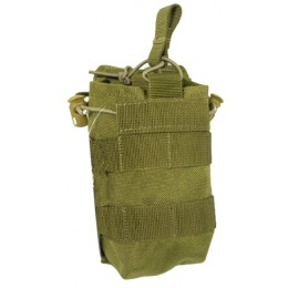 AMA Open Top Single M4 Magazine MOLLE Pouch - KHAKI