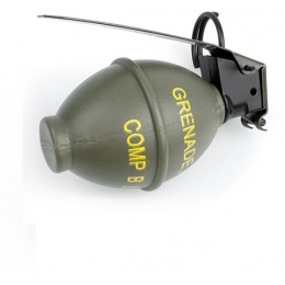 AMA Polymer M26 Dummy Grenade w/ Metal Pin - OLIVE DRAB