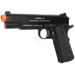 KWA M1911 MKIV PTP Full Metal Gas Blowback Pistol w/ 20mm Rail