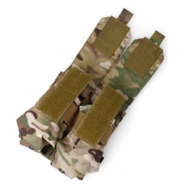 AMA Airsoft Dual M4 Double Magazine Pouches - CAMO