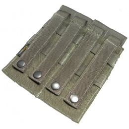 AMA Airsoft Dual M4 Double Magazine Pouch - RANGER GREEN