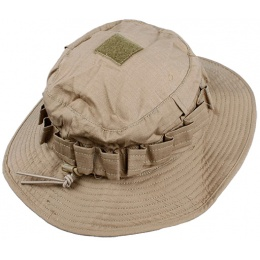 AMA Airsoft Light Weight Boonie Hat - KHAKI LG