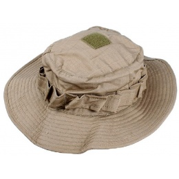AMA Light Weight Boonie Hat - KHAKI MED