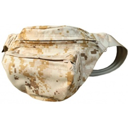 AMA Airsoft Cordura Low Pitched Tactical Fanny Pack - DESERT DIGITAL