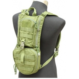 AMA Airsoft Abush QD Hydration Backpack - OD GREEN